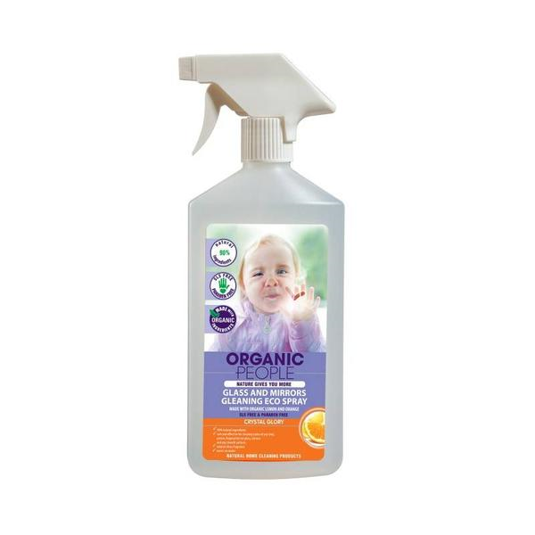 Glass and mirrors cleaning eco spray