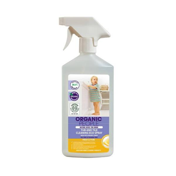 Tub and tile cleaning eco spray